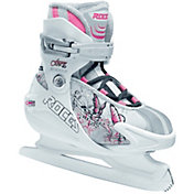Roces Youth Girls' Adjustable Fuzzy 1.0 Figure Skates