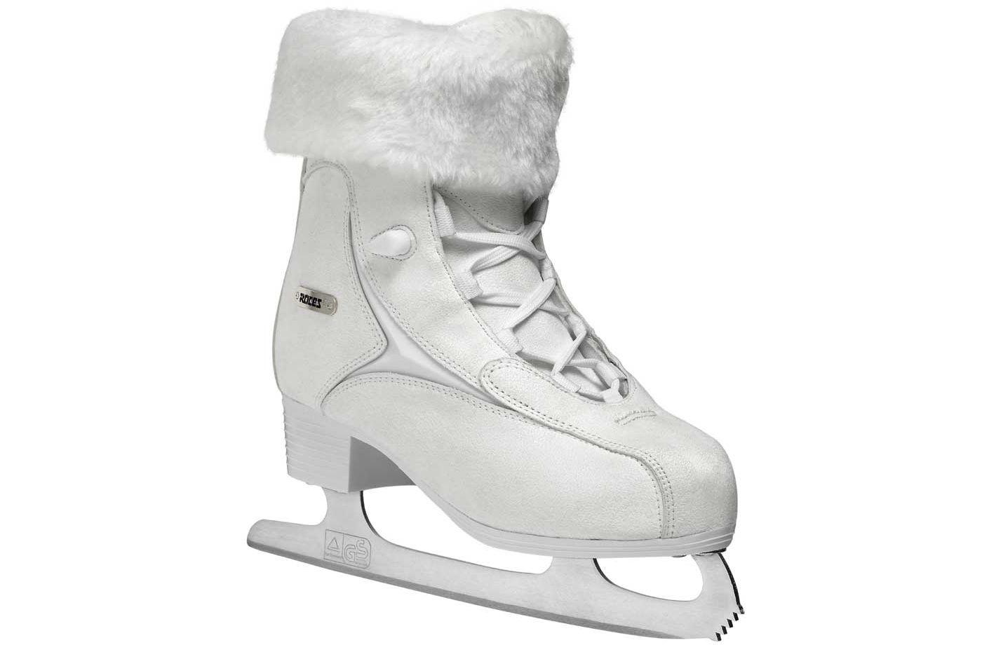 Roces Women's Fur Figure Skates