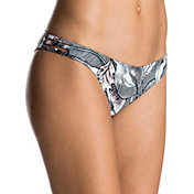 Roxy Women's Print Strappy Love Surfer Bikini Bottoms