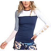 Roxy Women's Stripe Long Sleeve Rash Guard
