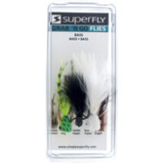 Superfly Grab 'N Go Bass Fly Fishing Assortment Pack