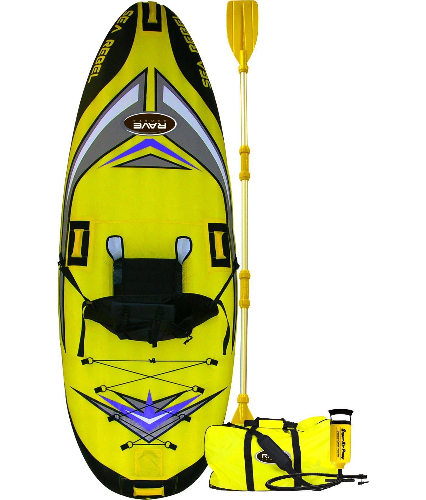 Rave Sports Sea Rebel Inflatable Kayak