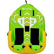 Rave Sports #STOKED 2 Rider Towable Tube