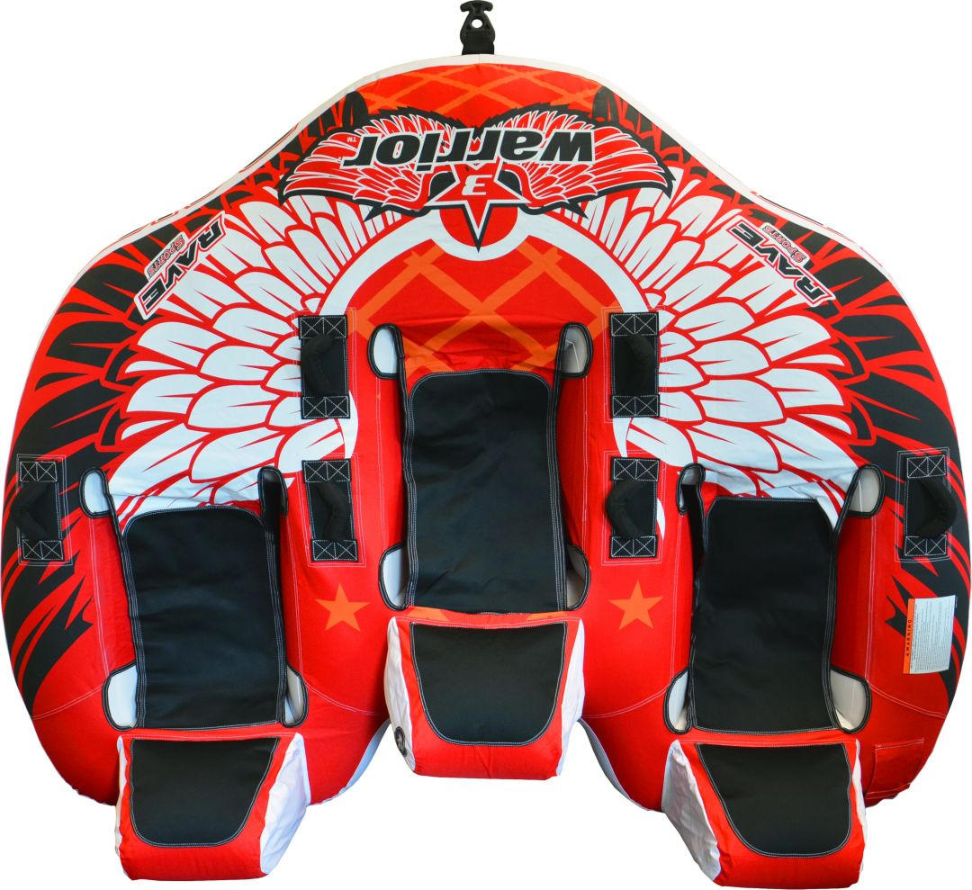 Rave Sports Warrior 3 3-Person Towable Tube