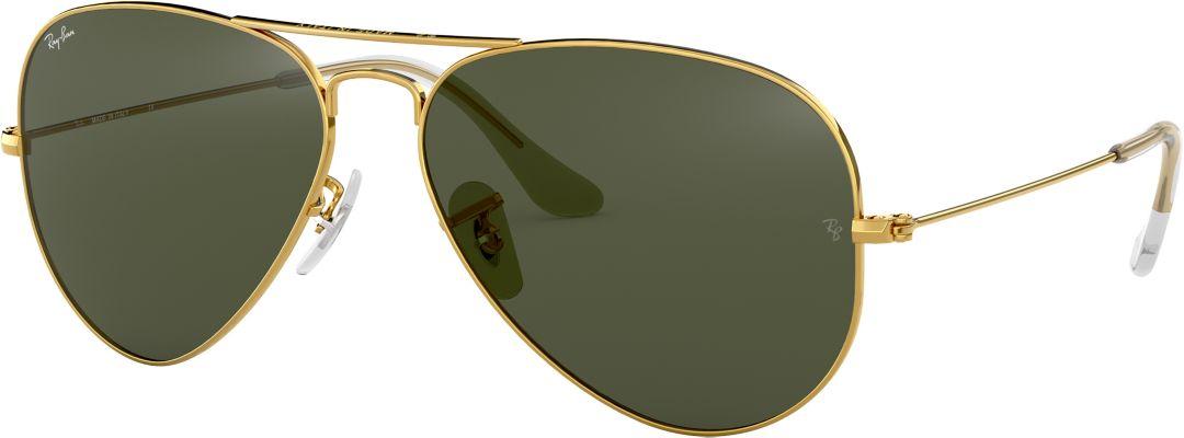 3157fa0d96 Ray-Ban Men's Aviator Sunglasses   DICK'S Sporting Goods