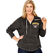 Soft As A Grape Women's Pittsburgh Pirates Black Hoodie - Plus Size