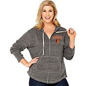 Soft As A Grape Women's Baltimore Orioles Grey Hoodie - Plus Size