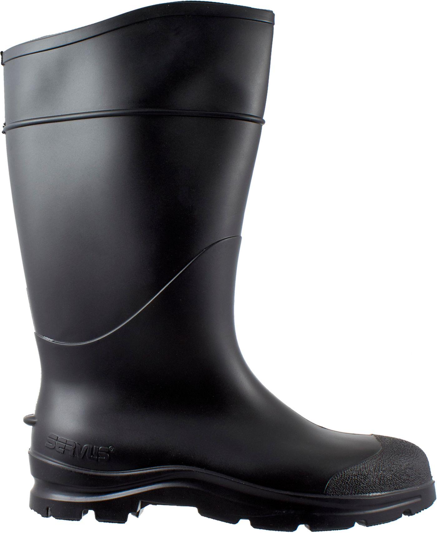 Servus Men's CT Economy Waterproof Rubber Work Boots