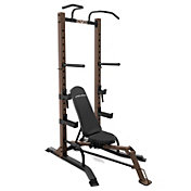 Steelbody Half Rack w/ Foldable Bench