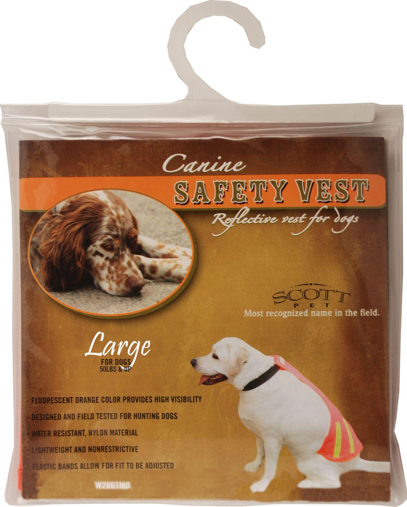 Scott Pet Quick Spot Orange Field Vest