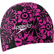 Speedo Solid Lycra Long Hair Swim Cap