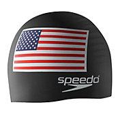 Speedo Silicone Flag Swim Cap
