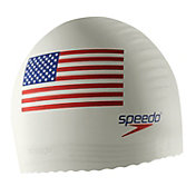 Speedo Silicone Flag Swim Cap