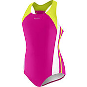 Speedo Girls' Infinity Splice Swimsuit