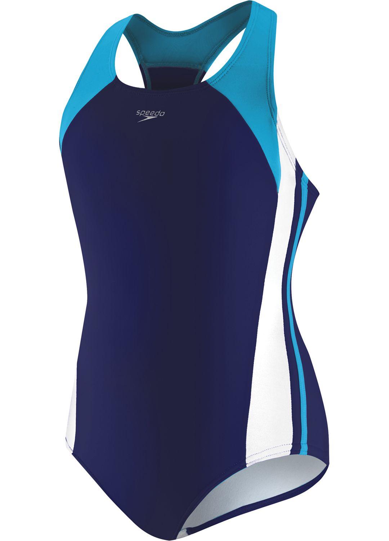 113d84278d3d2 Speedo Girls' Infinity Splice Swimsuit | DICK'S Sporting Goods
