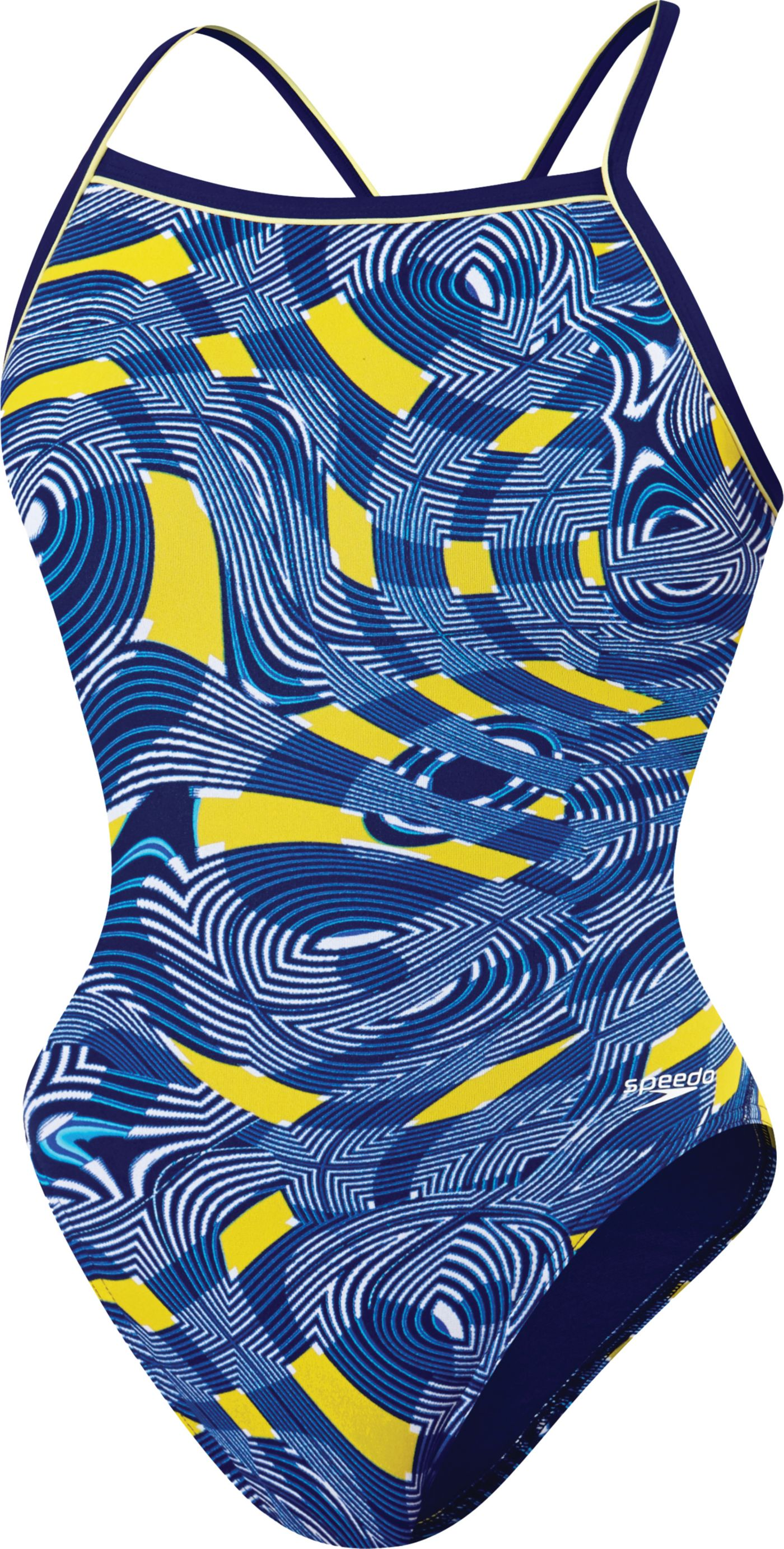 Speedo Girls' Scoubidou Flyback Swimsuit