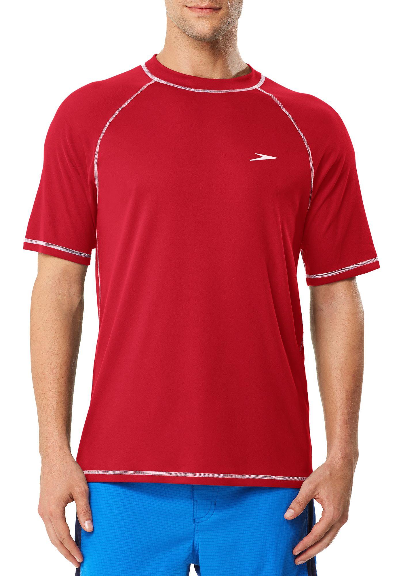 Speedo Men's Easy Short Sleeve Swim T-Shirt