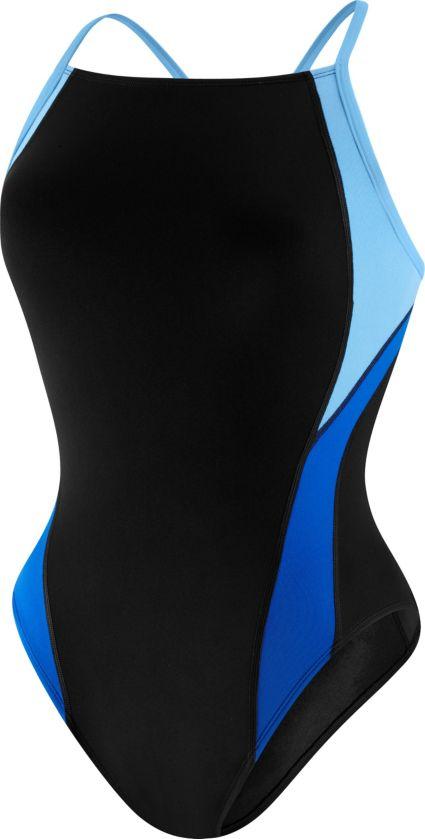 967bb6b0d2b Speedo Women s Endurance+ Launch Splice Cross Back Swimsuit. noImageFound