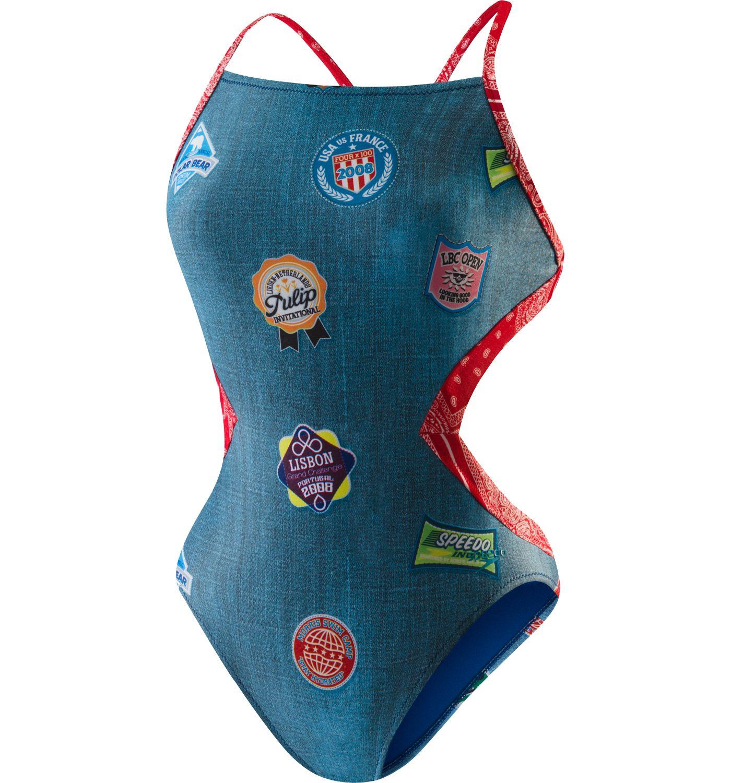 Speedo Women's Patch It Up Swimsuit