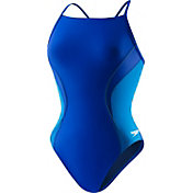 Speedo Women's Revolve Splice Energy Back Swimsuit