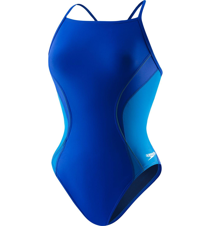 Speedo Women's Revolve Splice Energy Back Swimsuit