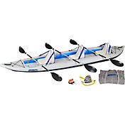 Sea Eagle 465 Fast Track Deluxe Tandem Kayak Package