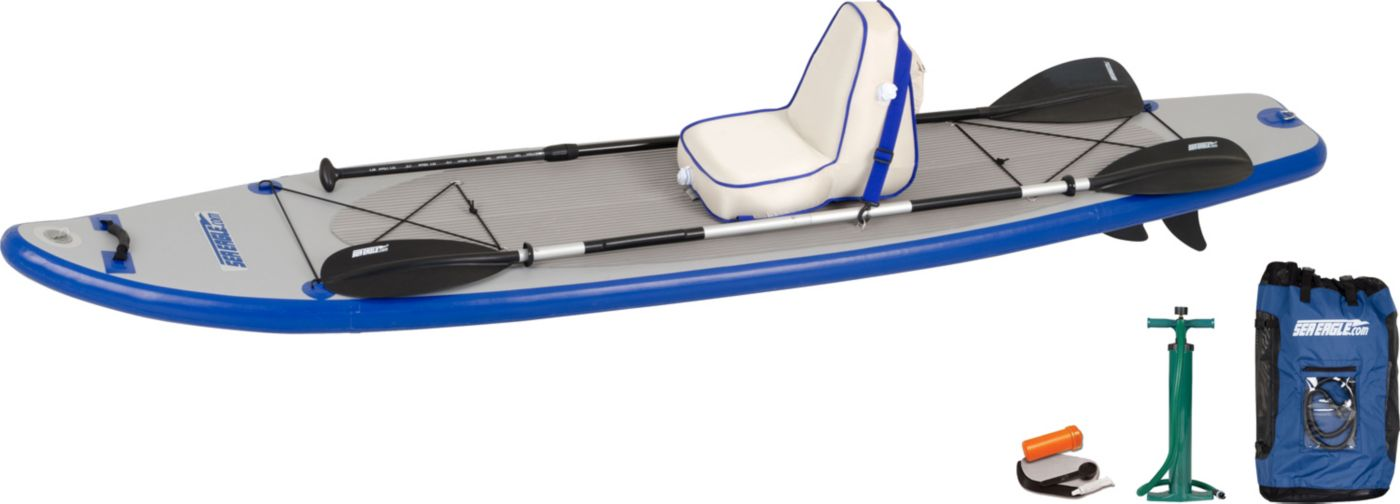 Sea Eagle Longboard 11 Stand-Up Paddle Board Deluxe Package