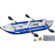 Sea Eagle 380 Explorer Deluxe Tandem Kayak Package