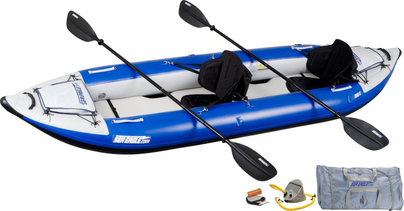 Sea Eagle 380 Explorer Pro Tandem Kayak Package