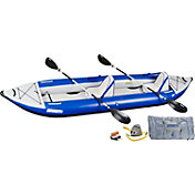 Sea Eagle 420 Explorer Deluxe Tandem Kayak Package