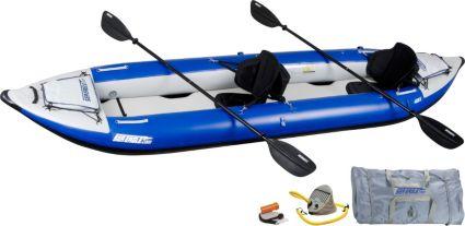 Sea Eagle 420 Explorer Pro Tandem Kayak Package
