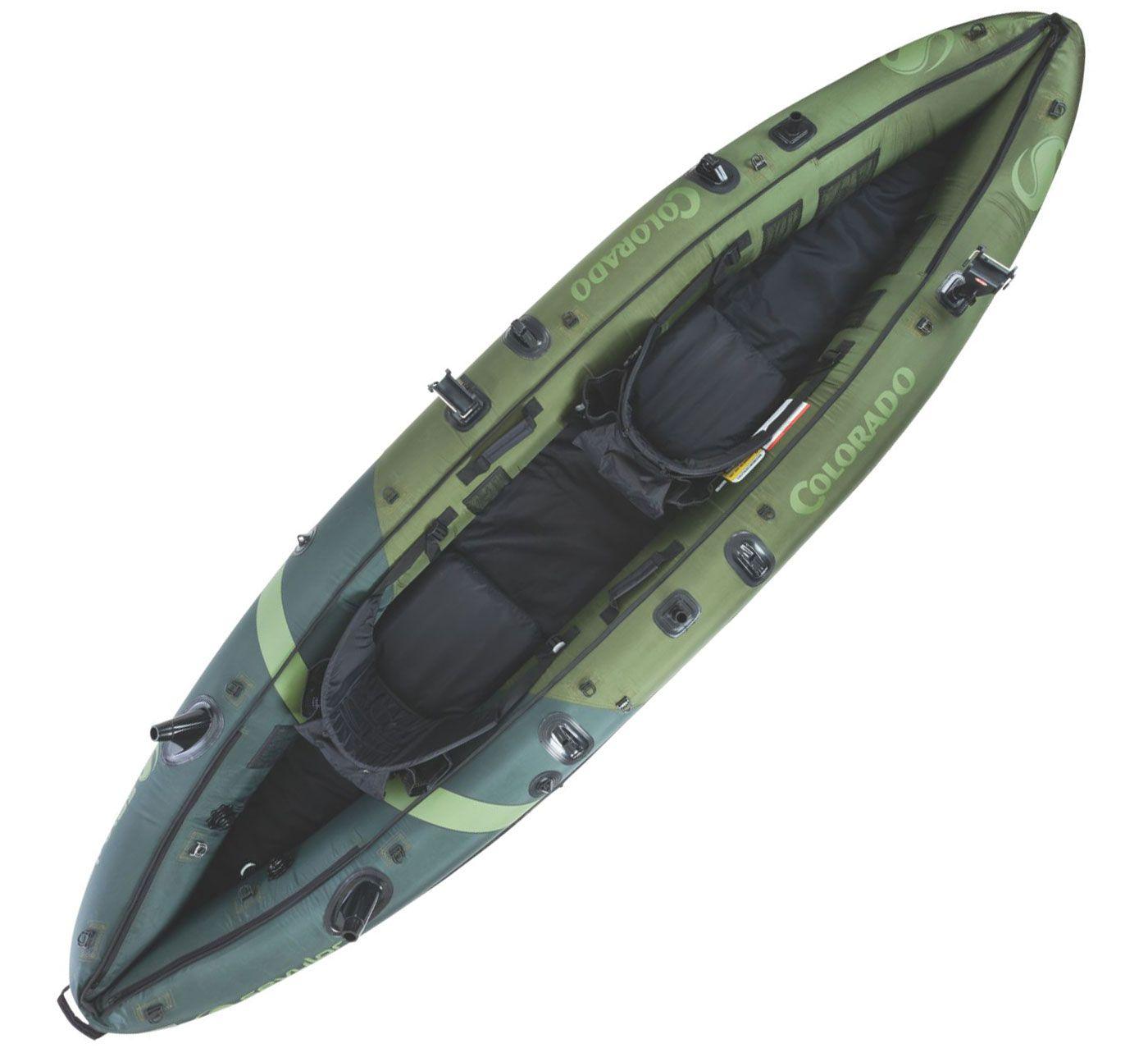 Sevylor Colorado HF Angler Inflatable Kayak