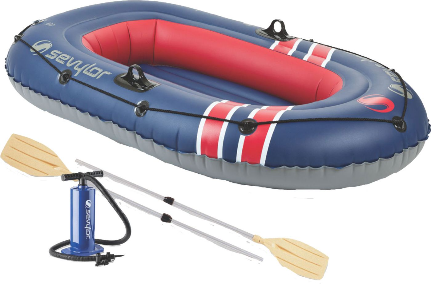 Sevylor Super Caravelle 200 Berkley Combo 2-Person Inflatable Boat