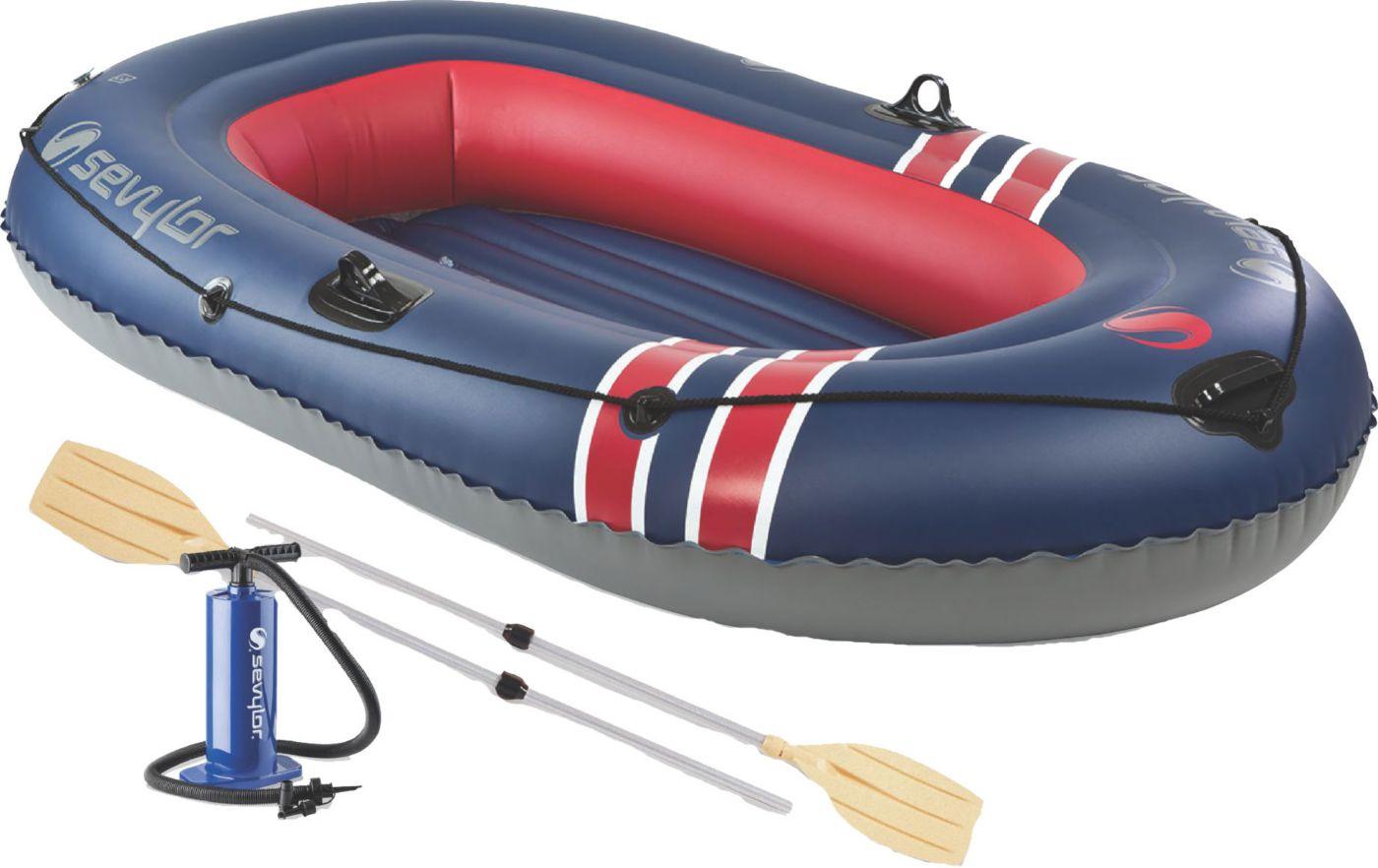 Sevylor Super Caravelle 300 Berkley Combo 3-Person Inflatable Boat