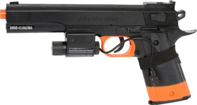 Soft Air USA Colt 1911 with Laser Airsoft Gun Kit – Black