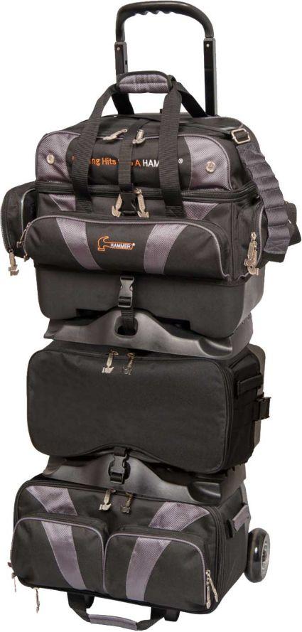 Hammer Premium Stackable 6 Ball Roller Bowling Bag
