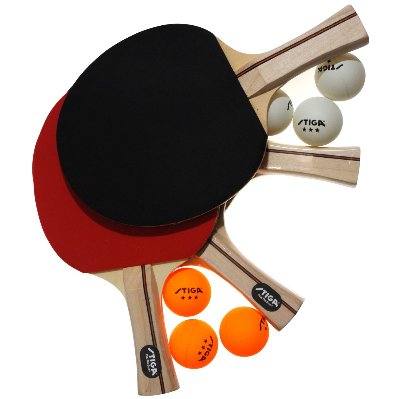 Stiga Master Series Performance Four Player Indoor Table Tennis Set