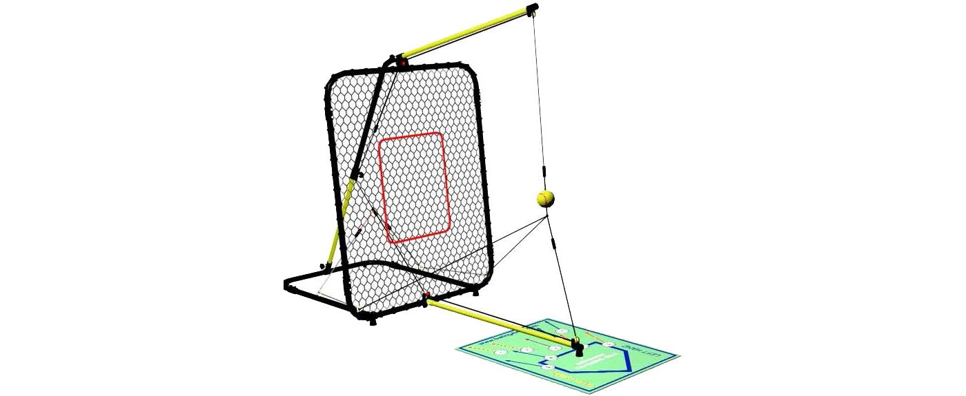 SwingAway Jennie Finch Fastpitch Traveler Hitting Trainer