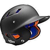Schutt Adult Air 4.2 Matte Batting Helmet in Black