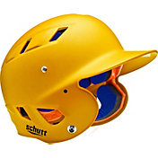 Schutt Adult Air 4.2 Matte Batting Helmet in Gold