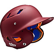 Schutt Adult Air 4.2 Matte Batting Helmet in Maroon
