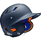 Schutt Adult Air 4.2 Matte Batting Helmet in Navy