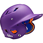 Schutt Adult Air 4.2 Matte Batting Helmet in Purple