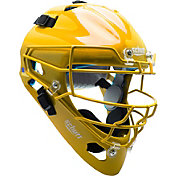 Schutt Adult Air Maxx 2966 Catcher's Helmet in Gold