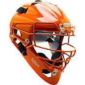 Schutt Adult Air Maxx 2966 Catcher's Helmet in Orange