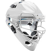 Schutt Adult Air Maxx 2966 Catcher's Helmet in White