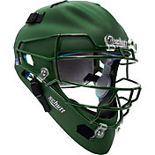 Schutt Adult Air Maxx 2966 Matte Catcher's Helmet in Dark Green