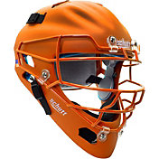 Schutt Adult Air Maxx 2966 Matte Catcher's Helmet in Orange