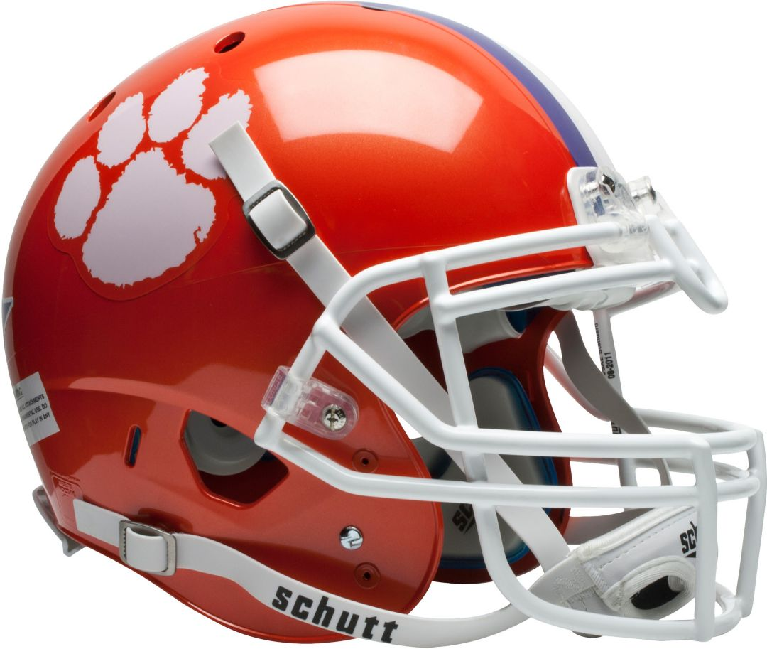 new arrivals cd9e5 17fad Schutt Clemson Tigers XP Authentic Football Helmet