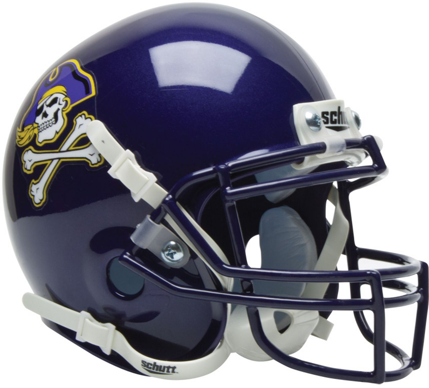 Schutt East Carolina Pirates Mini Authentic Football Helmet